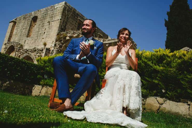 Cyprus Bellapais Monastery Wedding Photos - Ceremony
