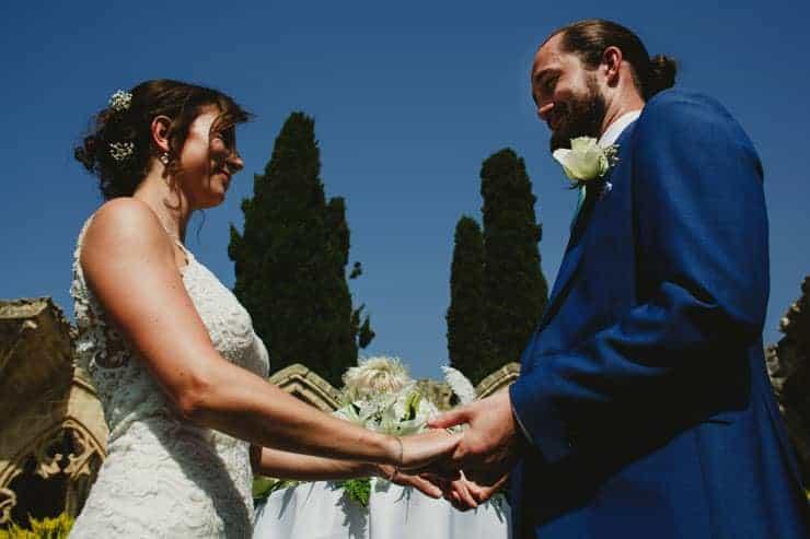 North Cyprus Bellapais Monastery Wedding Photos - Ceremony