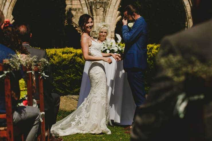 North Cyprus Kyrenia Bellapais Monastery Wedding Photos - Ceremony