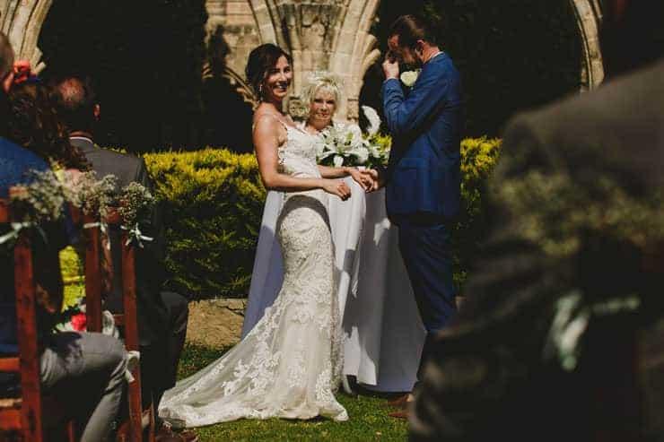 North Cyprus Kyrenia Bellapais Monastery Wedding Photos - Ceremony