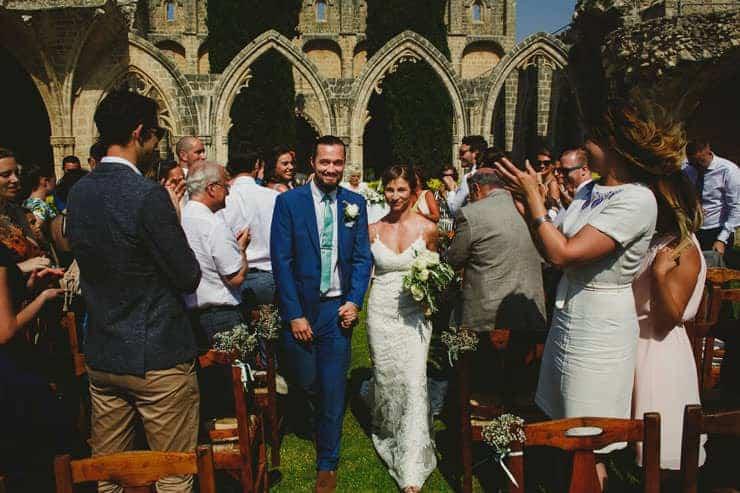 North Cyprus Kyrenia Bellapais Abbey Wedding Photos - Ceremony