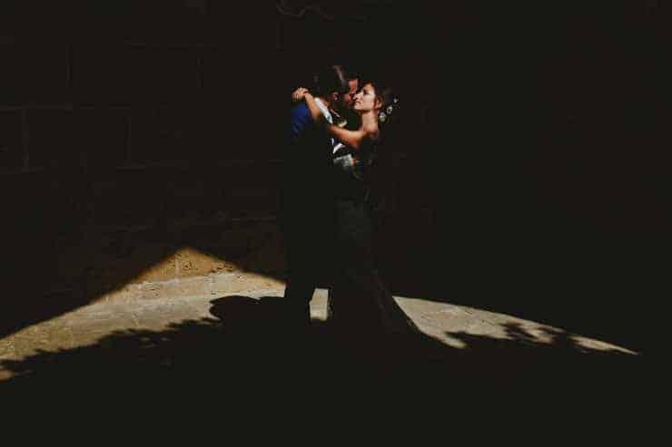 Kyrenia Bellapais Abbey Wedding Photos-groom and bride