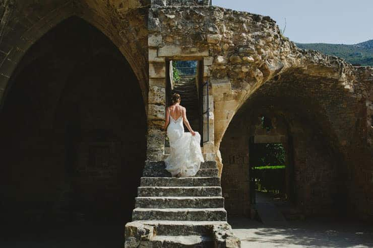 Kyrenia Bellapais Abbey Wedding Photos