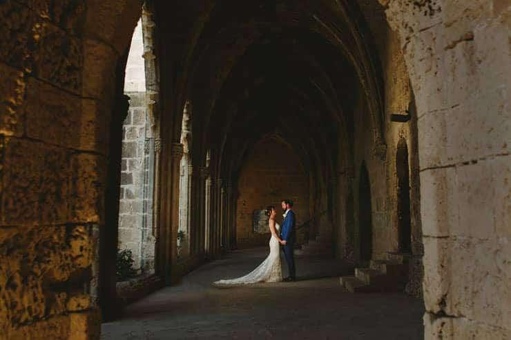 Kyrenia Bellapais Abbey Wedding Photos