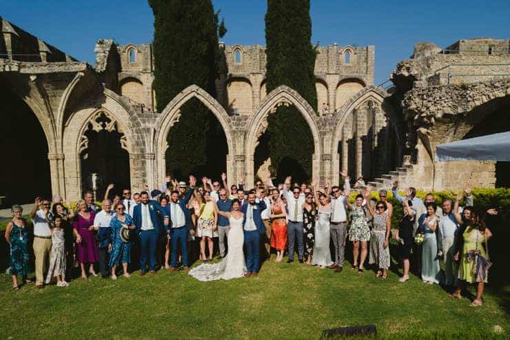 Kyrenia Bellapais Abbey Wedding Photo Shooting