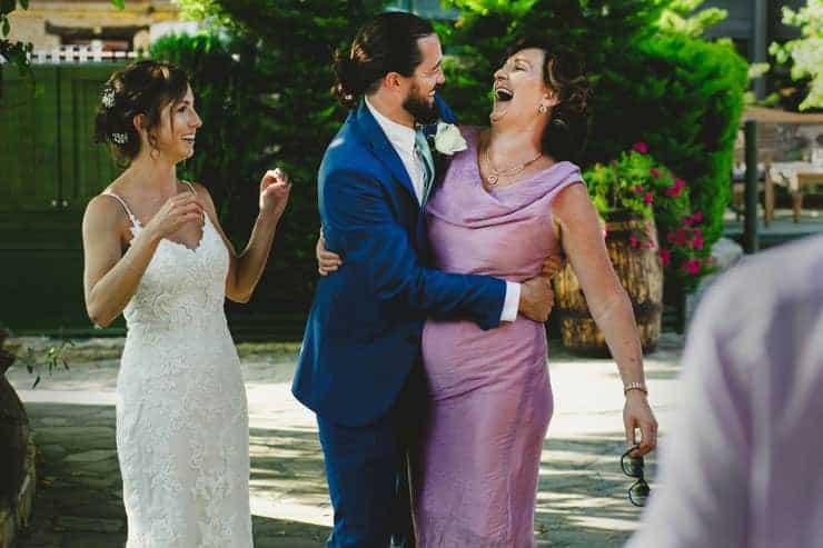 Kyrenia Bellapais Abbey Wedding Group Photo Shooting