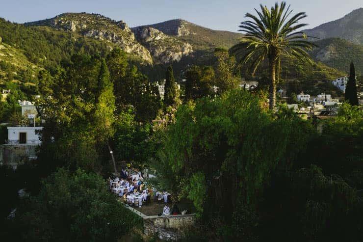 Kyrenia Bellapais Abbey Wedding Dinner
