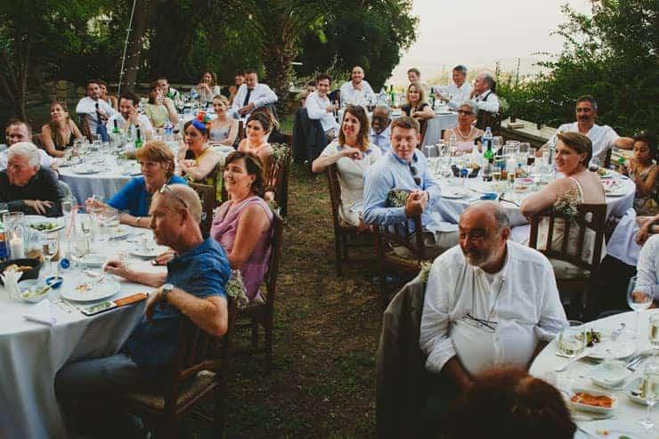 Kyrenia Bellapais Abbey Wedding - Speaches
