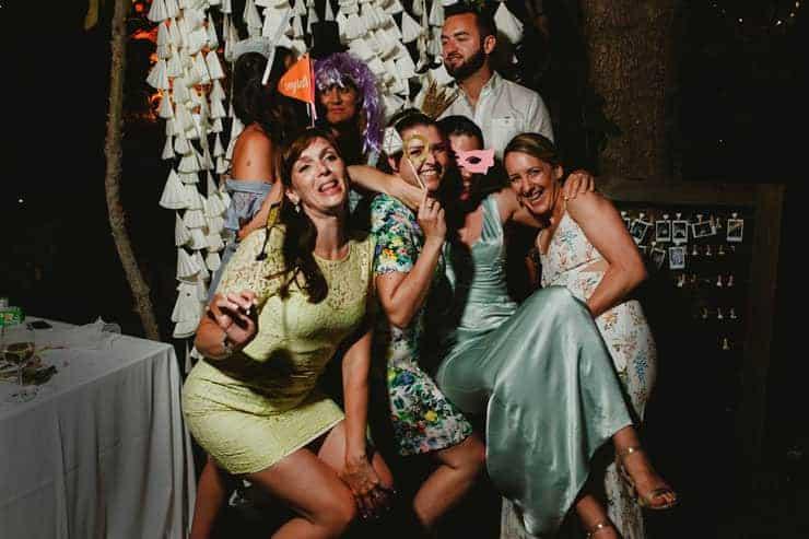 Bellapais Abbey Wedding - Reception