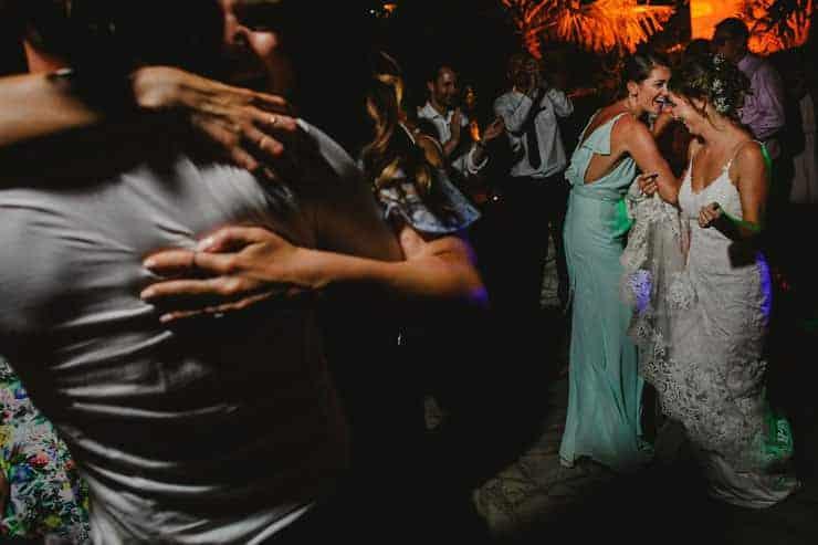 Bellapais Abbey Wedding - Reception Irish Dance