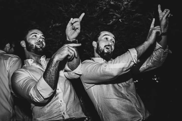 Bellapais Abbey Wedding - Irish Dance Groom and Bride