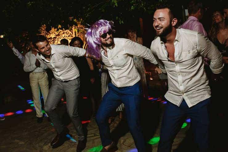 Bellapais Abbey Wedding - After Party Photos