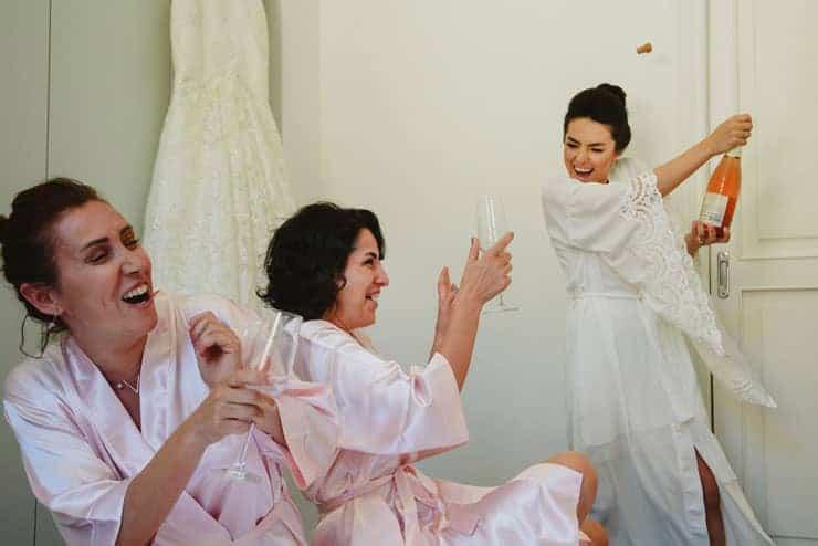 Como Lake Villa Pizzo Wedding Photos - Groom