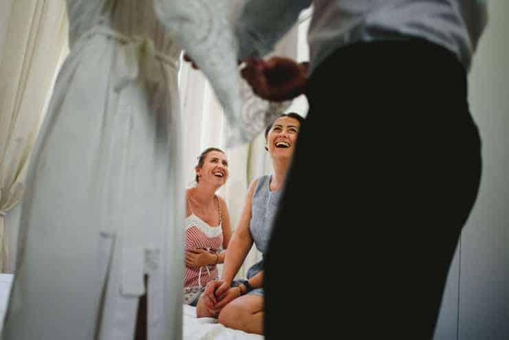 Como Lake Villa Pizzo Wedding Photos - Bride's room