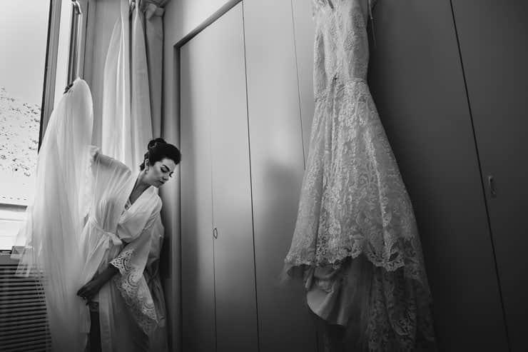 Como Lake Villa Pizzo Wedding Photos - Bride Make up