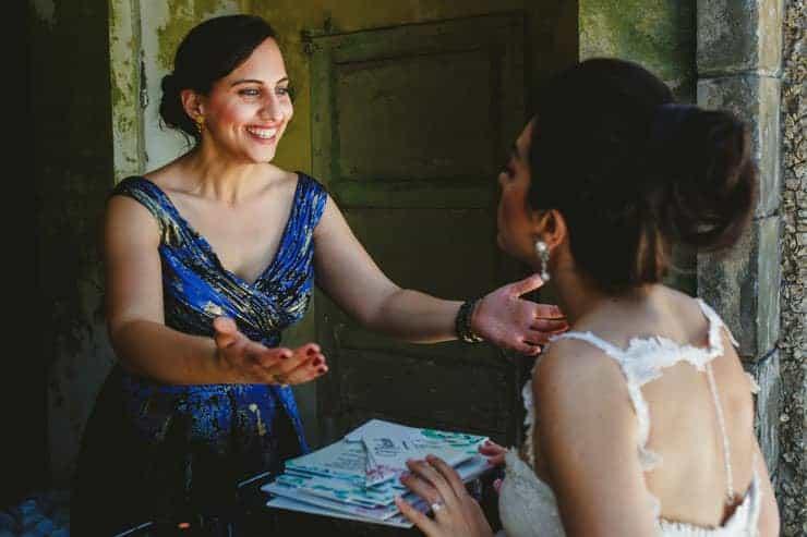 Como Lake Wedding Photos - Groom Preperation