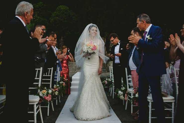 Como Lake Villa Pizzo Wedding Photos - Groom to Ceremony
