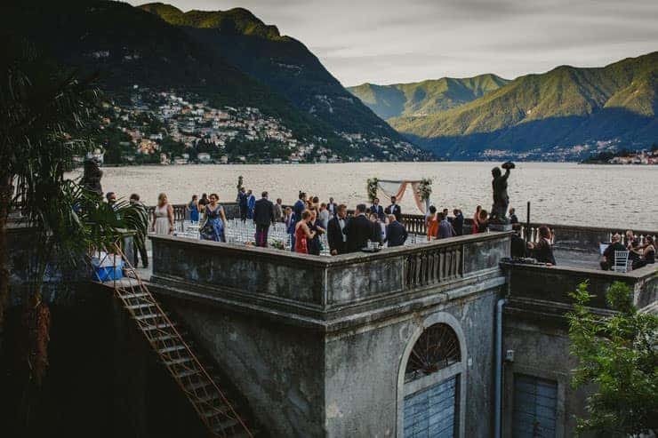 Como Lake Villa Pizzo Wedding Photos - Ceremony