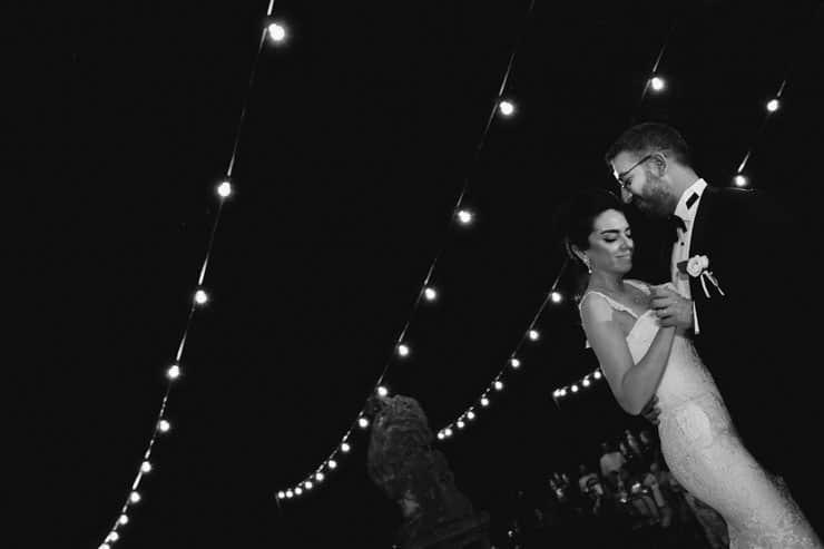 Como Lake Villa Pizzo Wedding Photos - First Dance