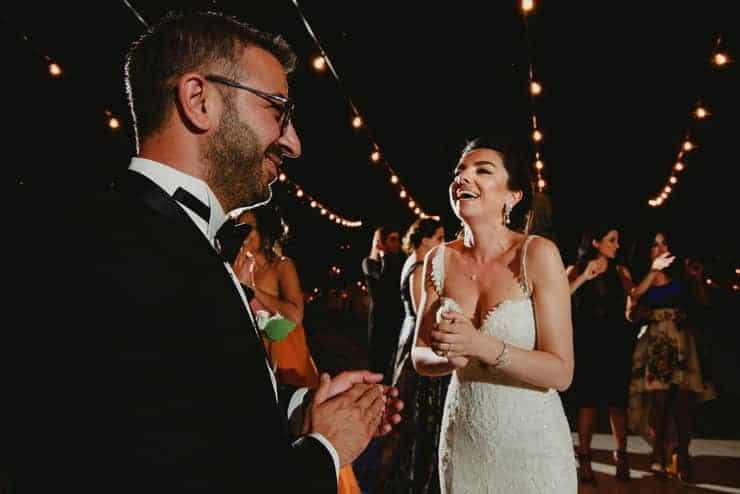 Como Lake Villa Pizzo Wedding Photos - Dance