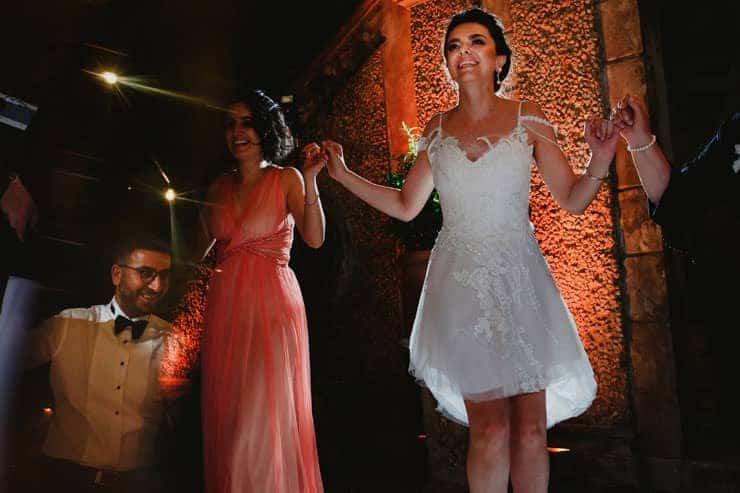 Como Lake Villa Pizzo Wedding Photos - After Party