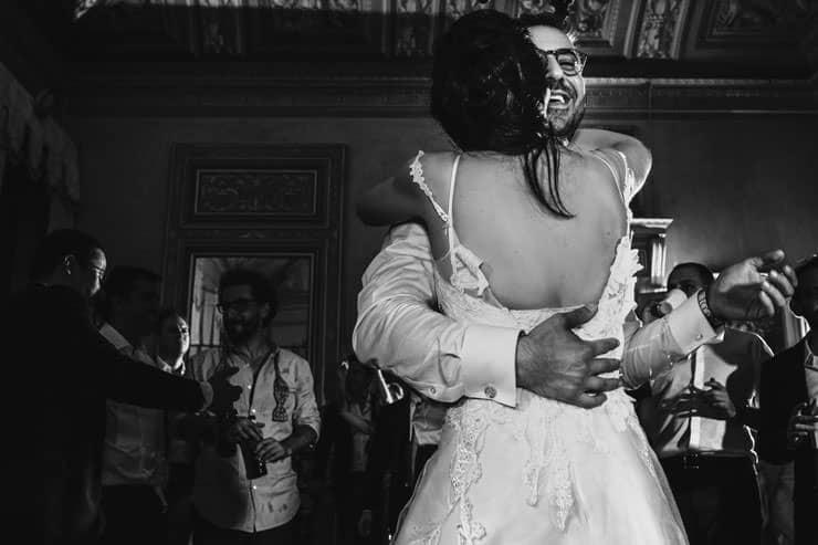 Italy Villa Pizzo Wedding Photos - After Party
