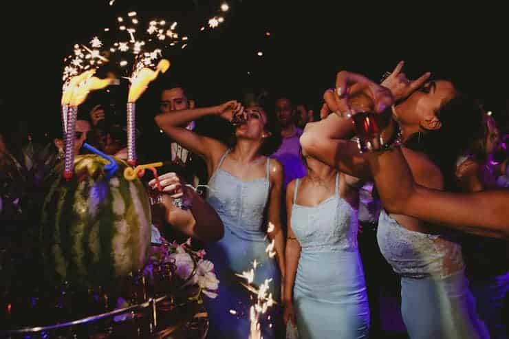 Kibris Merit Park Hotel Gelin Damat ilk dans