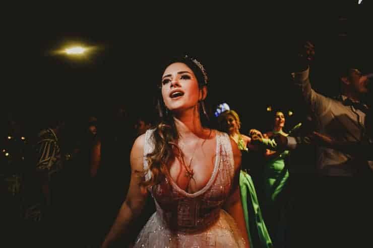 Kibris Merit Park Hotel Düğün - After party damat havada