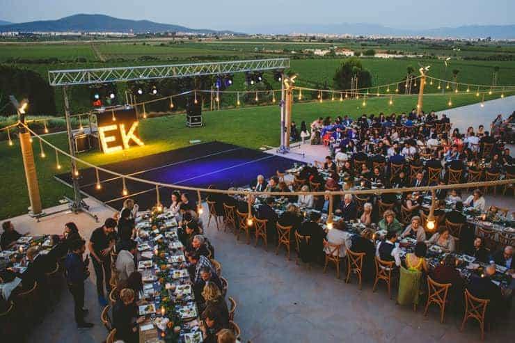 İzmir Luciene Arkas Bağları Nikah Yürüyüşü