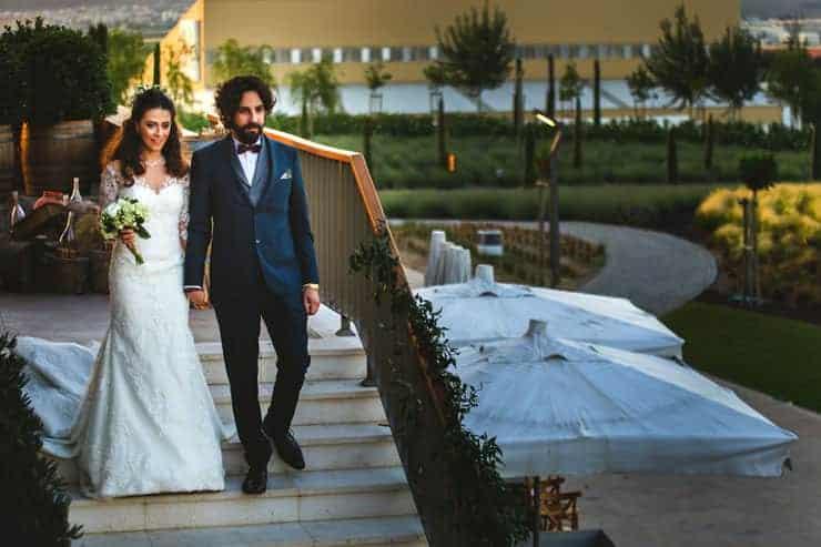 İzmir Luciene Arkas Bağları Düğün Detay