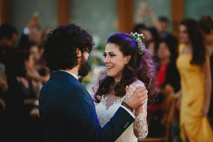 İzmir Luciene Arkas Bağları Düğün - İlk dans