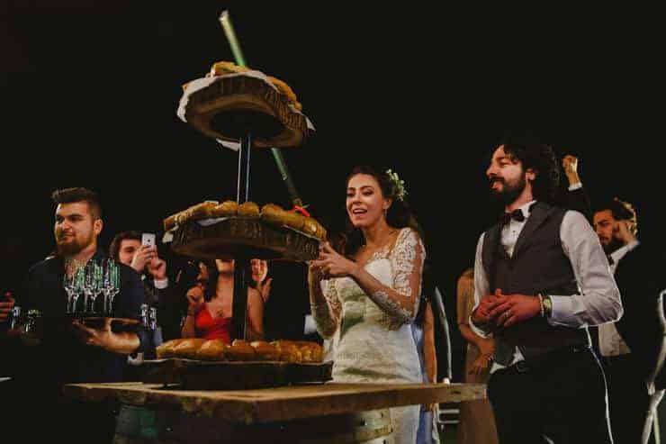 İzmir Luciene Arkas Bağları Düğün - Pasta