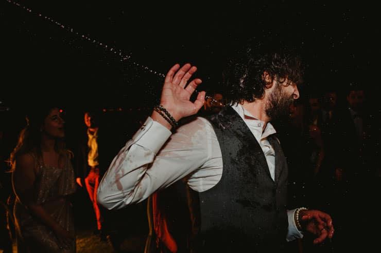 Luciene Arkas Vineyard LA Mahzen Wedding Party