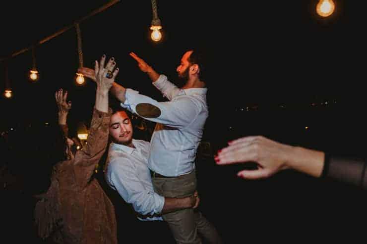Izmir Luciene Arkas Vineyard LA Mahzen Wedding Party