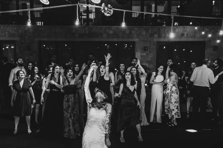Izmir Luciene Arkas Vineyard LA Mahzen Wedding After Party