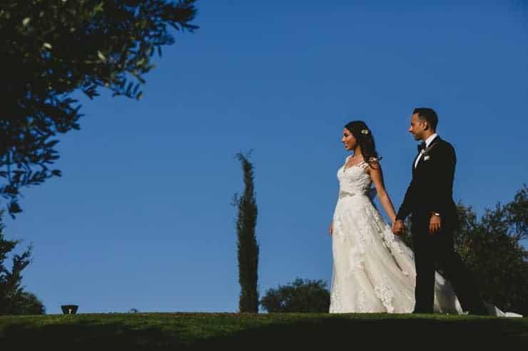 Kyrenia Korineum Couple Wedding Photo