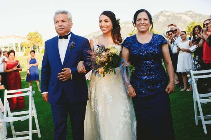 North Cyprus Korineum Wedding - Ceremony