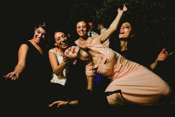 Kyrenia Korineum Wedding Photographer - After Party