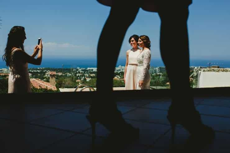 Kyrenia Wedding Photos - Bride moments