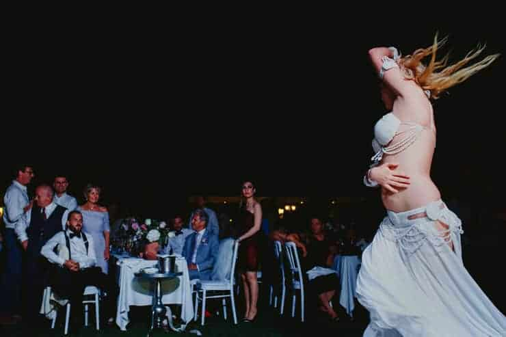 North Cyprus Destination Wedding -The House and The Garden Belly Dancer
