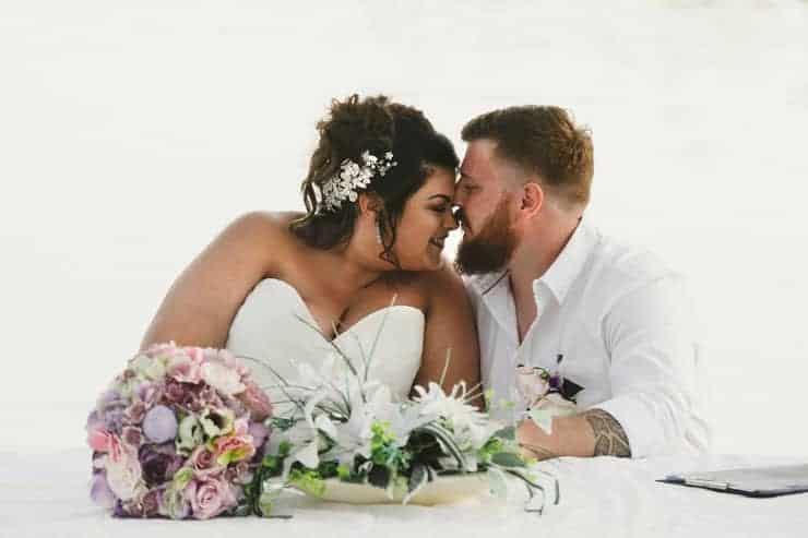 Oludeniz Billys Beach Wedding Ceremony Photos