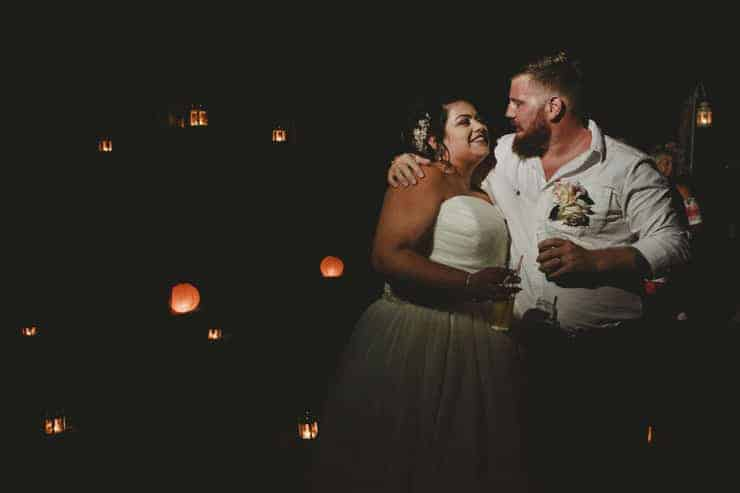 Oludeniz Billys Beach Wedding Photos - groom speach