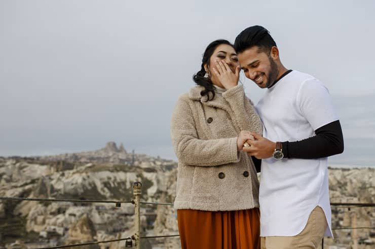Proposal Photos at Cappadocia Turkey