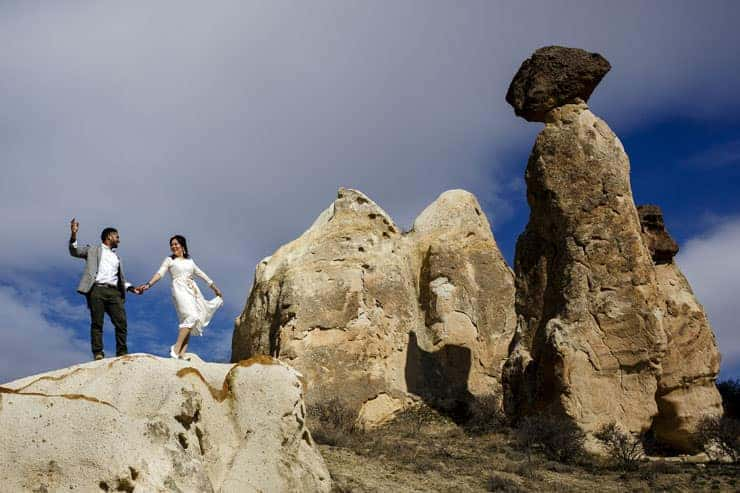 Pre-wedding photos at Cappadocia