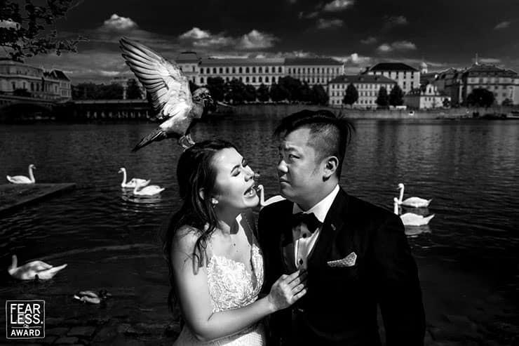 prague wedding photo