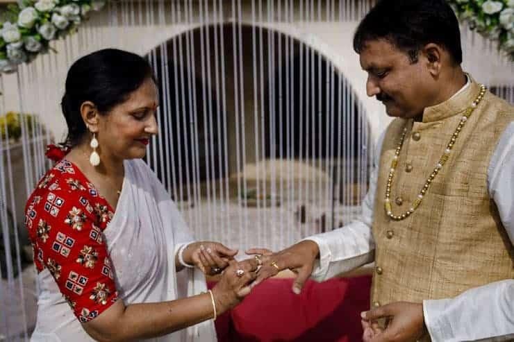 Indian Wedding Photos Cappadocia ceremony