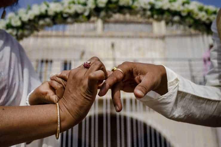 Indian Wedding Photos Turkey ceremony
