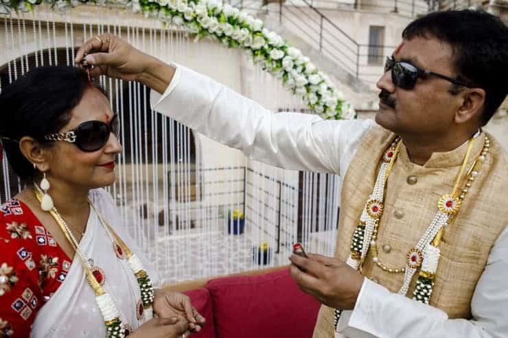 Indian Wedding Photos Cappadocia Turkey ceremony