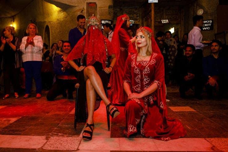 Indian Wedding Reception Cappadocia Turkey - Turkish Night