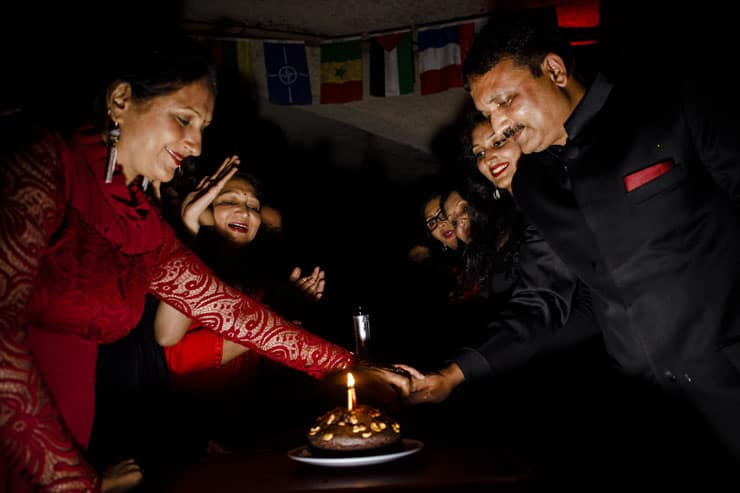 Indian Wedding Reception Cappadocia Turkey - Cake
